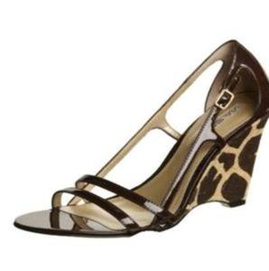 Via Spiga Cinder Wedge Heels Size: 7M